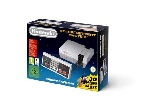 nintendo classic console nintendo nes classic mini console