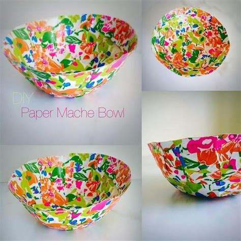 Paper Mache Crafts For Adults - paper mache bowl crafts a bowl and paper