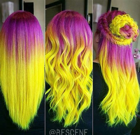 multi colored hair ideas multi colored hair ideas by danielle organ musely