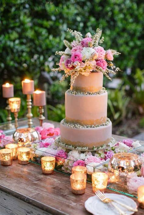 Wedding Cake Ideas Rustic by 28 Inspirational Pink Wedding Cake Ideas