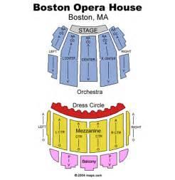 Boston Opera House Seating Plan Green Day S American Idiot January 29 Tickets Boston Boston Opera House Green Day S American