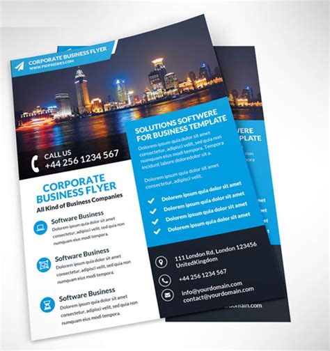 flyer design requirements 50 corporate flyer design inspiration for saudi companies