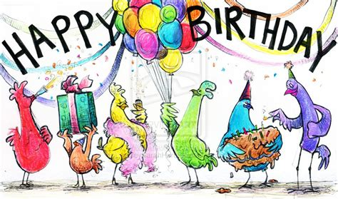 Chicken Birthday Card Chicken Birthday Card By Ashleysarahhurd On Deviantart