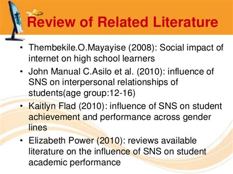 exle of review of related literature in a research paper review of related literature on academic performance