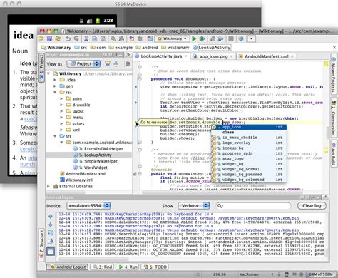 tutorial android intellij introduction android developers