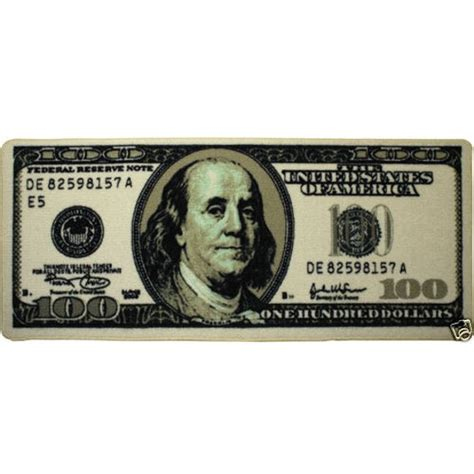 100 dollar bill rug big money 100 dollar bill area rug door mat 22 quot x 53