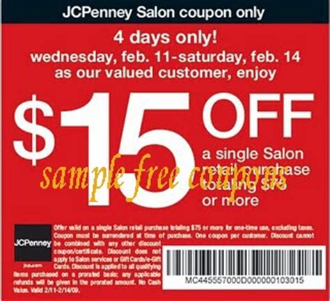 jcpenney coupons february 2014