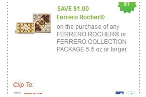 ferrero rocher coupon printable 2018
