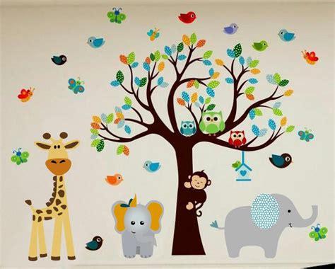 vinilos cuarto bebe vinilos decorativos arboles bebe infantiles cuartos bs