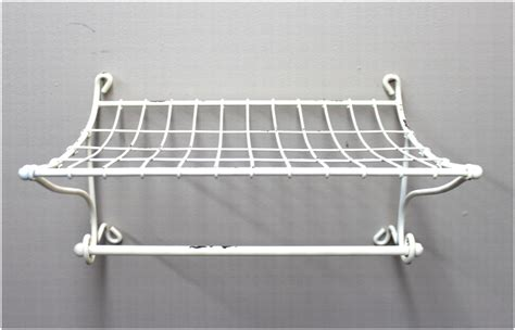 train rack bathroom shelf bathroom shelf and towel rack white steel train station
