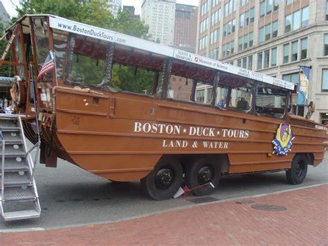 duck boat acronym geeta subramanium the super duck tours of boston geeta