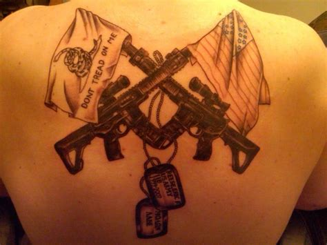 ar tattoo my new ar15