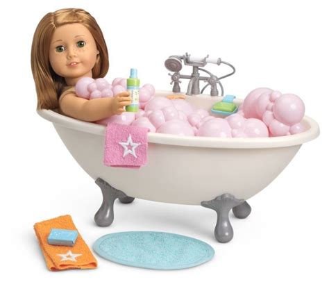 bathtub dolls american girl myag bubble bathtub for 18 quot dolls bath