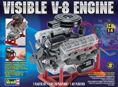 revell monogram revell  scale visible   engine model