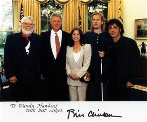 Clinton House 1990s photos with ronnie hawkins