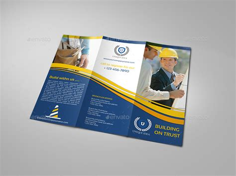 construction company brochure bundle vol 1 by owpictures