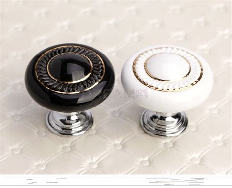 black ceramic cabinet knobs free shipping zinc alloy black ceramic cabinet knobs door