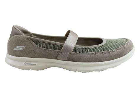 sketcher slippers skechers womens go step snap style comfortable