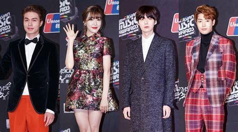 Setelan Denim Exo Berkualitas exo g taeyang cs adu keren di carpet 2014 kabar berita artikel