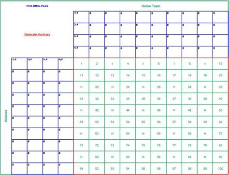 free football square template free 6 blank printable football squares template