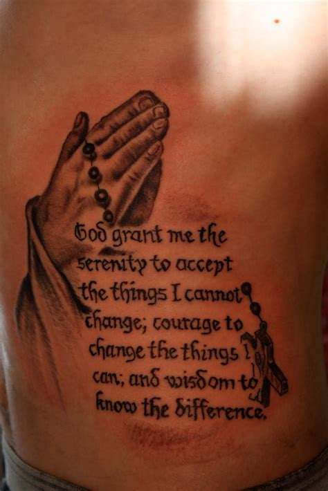 serenity prayer wrist tattoo serenity prayer tattoos designs ideas and meaning