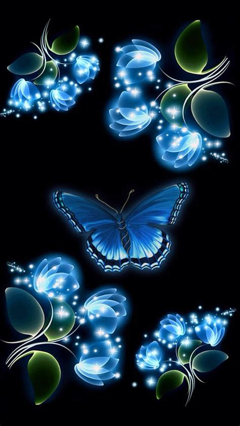 wallpaper iphone 6 butterfly blue butterfly iphone wallpaper background iphone