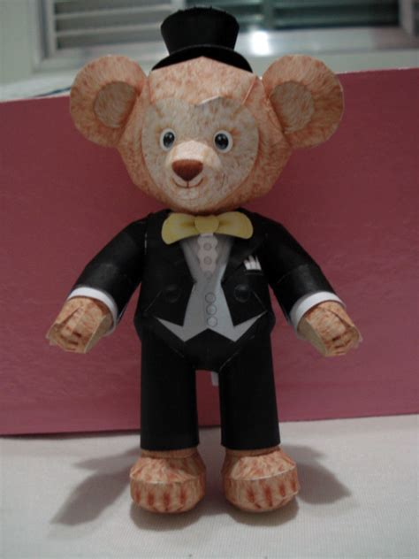 Teddy Papercraft - groom teddy papercraft by bslirabsl on deviantart