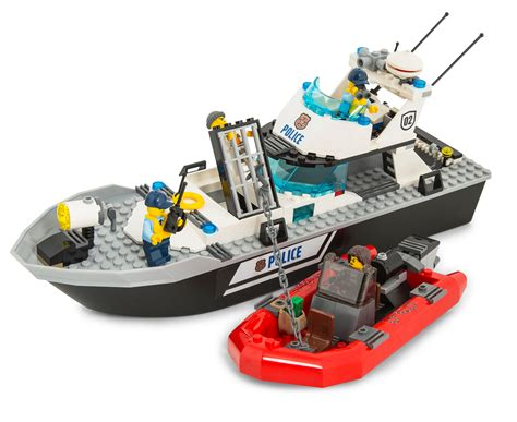 lego police boat games online lego 174 city police patrol boat building set catch au