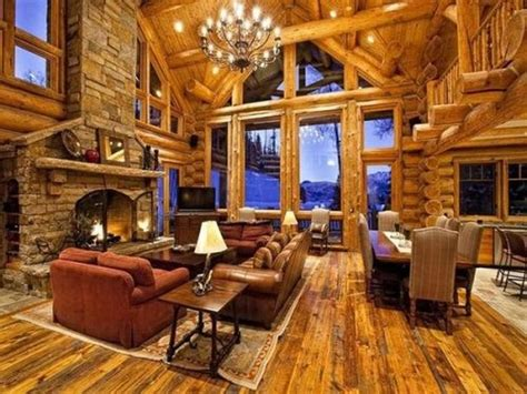 beautiful log home interiors awesome log cabins 36 pics