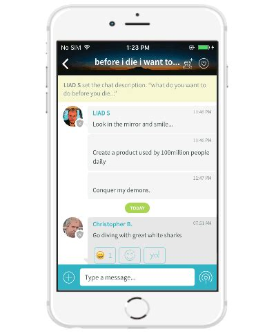 iphone chat room iphone chat app to create and chat rooms