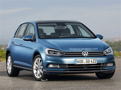 golf volkswagen 2016 volkswagen golf and golf gti speculatively rendered