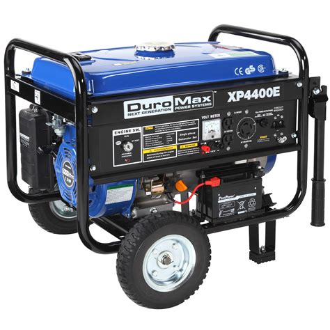 duromax xp4400e 4400 watt portable electric start rv