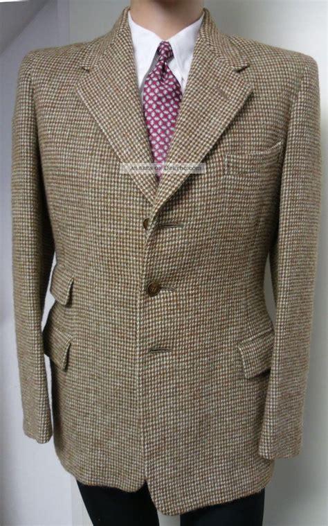 swing anzug 1930er 40er sakko jacke anzug 48 harris tweed sportcoat