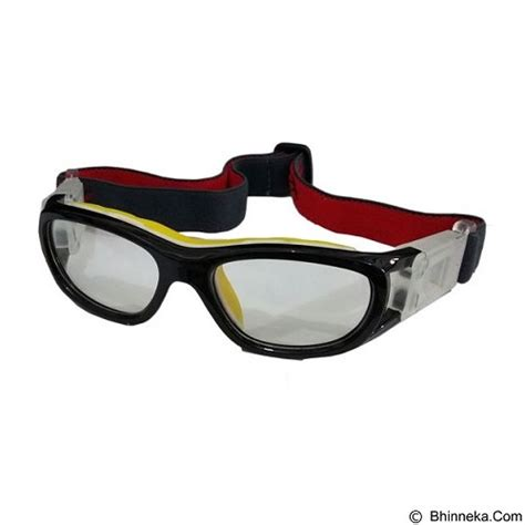 Baru Frame Kacamata Futsal Sport Bisa Untuk Lensa Minus Termurah jual lmd frame kacamata futsal nc137rx black yellow