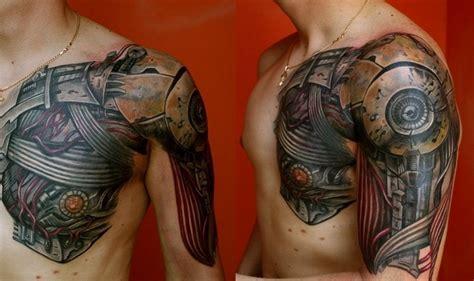 Motive Brust Schulter by Biomechanik 50 Bilder Mit Roboterhaften Motiven