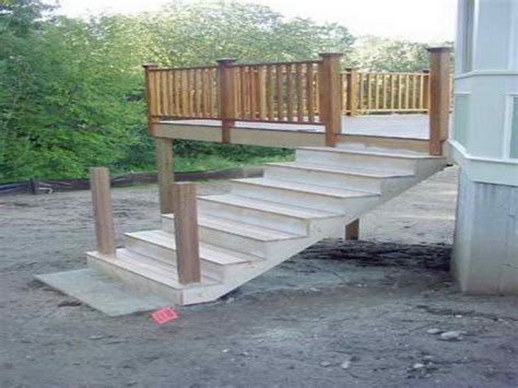 how to repairs how to building deck stairs building