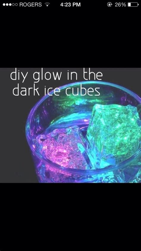 vodka tonic blacklight glow in the cubes mix tonic water with a