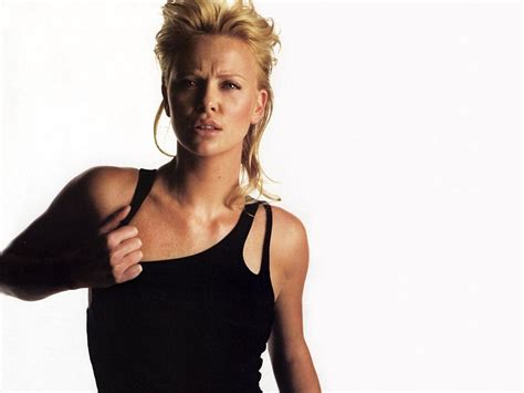 Charlize Theron Pretends To Model by Model Charlize Theron Wallpapers 6602