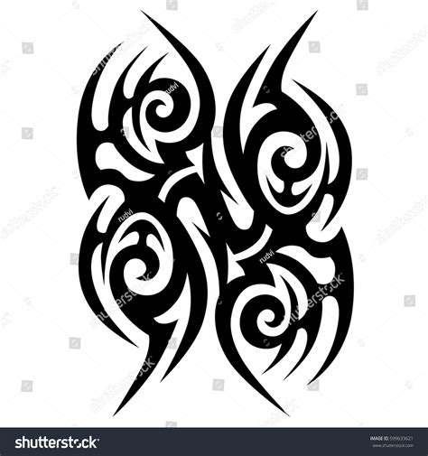 stock tattoo designs vector tribal designs tribal tattoos stock vector