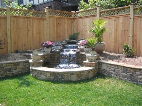 backyard fountains ideas best 25 outdoor water features ideas on