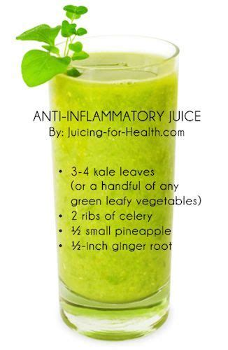 Inflammation Juice Detox by Daily Green Juice Great To Alkalize And Reduce