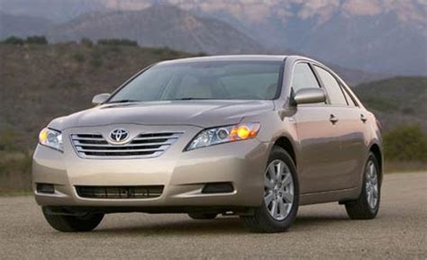2007 Toyota Camry Hybrid Car And Driver