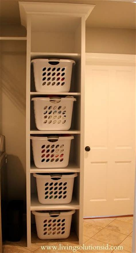 perfection floor to ceiling laundry basket stackable