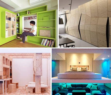 Flexible Interiors: 13 Shape Shifting Small Apartments