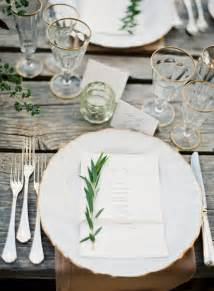 Beautiful Table Settings by Elegant Organic Rustic China Table Setting Once Wed