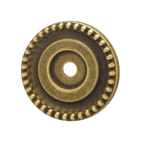Brass Teardrop Pull Teardrop Small Backplate 2 14 hafele cabinet and door hardware 125 03 112 knob backplate rustic brass hafele hardware