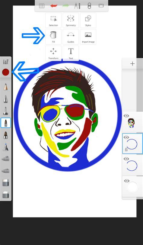 tutorial edit foto di android tutorial edit foto pop art sketchbook android