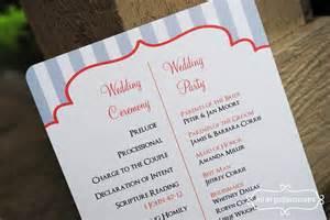 exle of wedding programs wedding programs exles reference wedding decoration