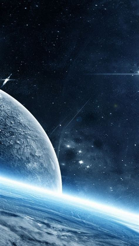 wallpaper planet galaxy stars  space