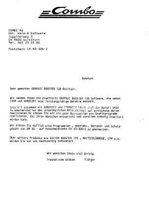 Anschreiben Auf Englishc Graphicbooster 128 Info Page